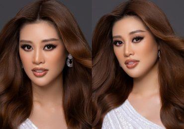Hình ảnh Hoa hậu Khánh Vân xuất hiện trên trang chủ Miss Universe 2021