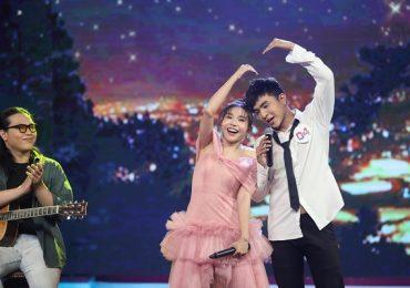 'Ca sĩ bí ẩn': Khả Như không ngại tình tứ với Steven Nguyễn trên sóng truyền hình