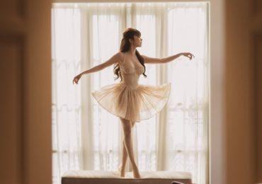 Hoa hậu Huỳnh Vy hóa vũ công ballet