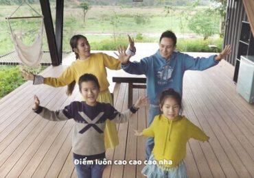 Gia đình Lý Hải – Minh Hà tự quay MV 'không ê-kíp' cùng các con khi bị kẹt ở Lâm Đồng