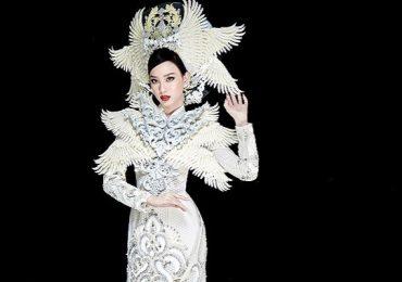 Cận cảnh bộ 'Phượng hoàng' – quốc phục của đại diện Việt Nam tại Miss Intercontinental 2021